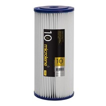 """Davey Water Filters Poly Pleated Suit 10"""" Jumbo Housings"""